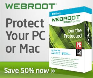 Webroot Cyber Monday