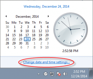 Display of Date & Time format in Windows