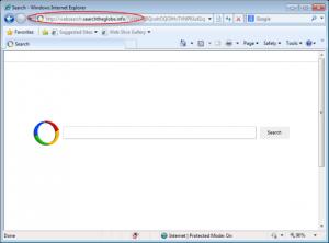 Websearch.searchtheglobe.info Homepage screenshot1