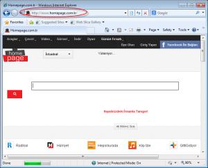 homepage.com.tr homepage image