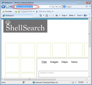 Shellsearch.net Homepage Image