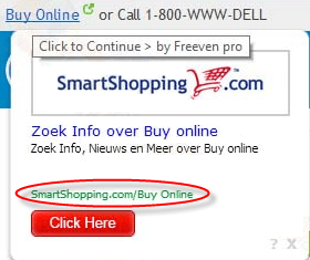 Smartshopping.com Popup Ads Image1