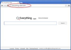 Everything-start.com Homepage Image