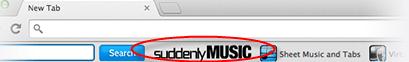 SuddenlyMusic Toolbar Image
