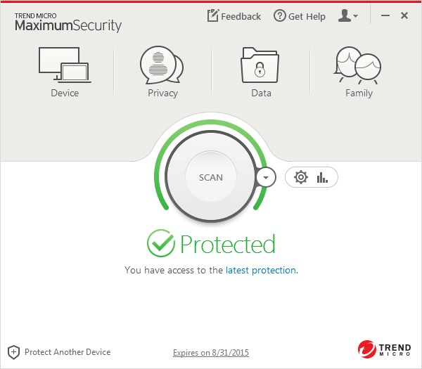 Trend Micro Maximum Security 2015