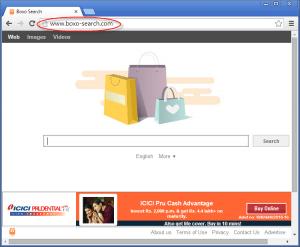 Boxo-search.com Homepage Image