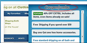 Ads by CouponJumbo Popup Image