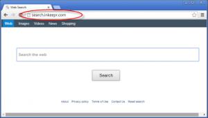 Search.inkeepr.com Homepage Image