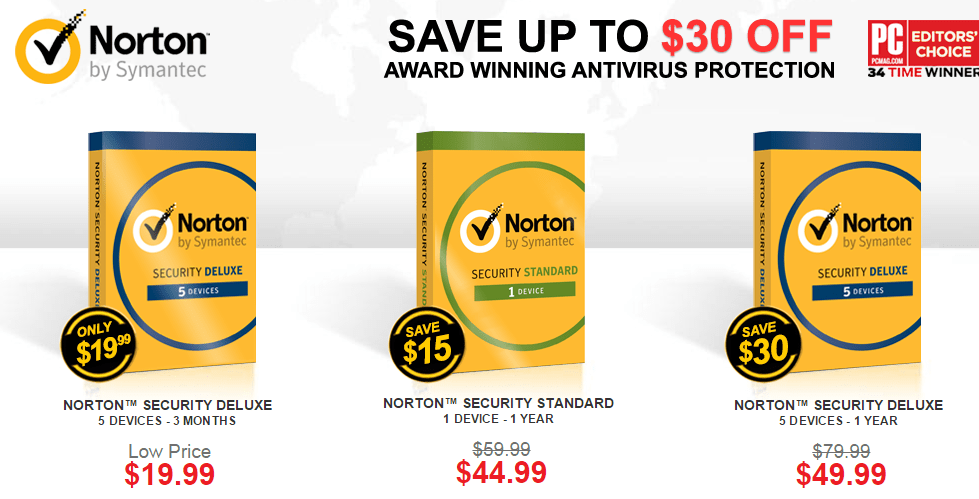 Norton Security cheaper Subscription Option