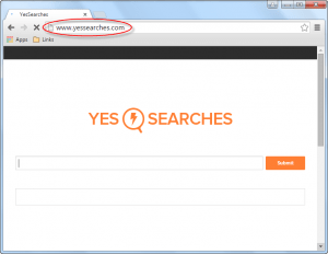 Yessearches.com Homepage Image