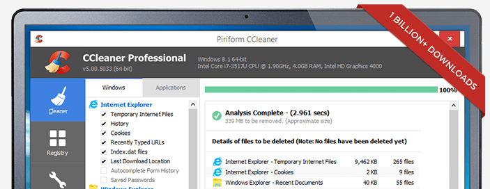 Download CCleaner