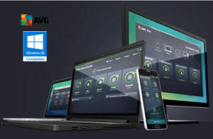 AVG 2016 Compatible with windows 10