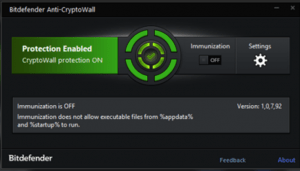 Bitdefender Anti Cryptowall