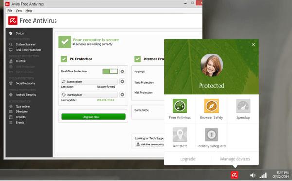 free antivirus for windows 10 full version
