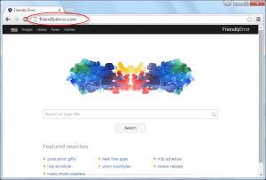 Friendlyerror.com Homepage Image