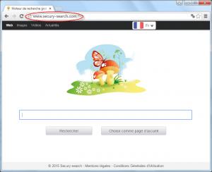 Secury-search.com Homepage Image