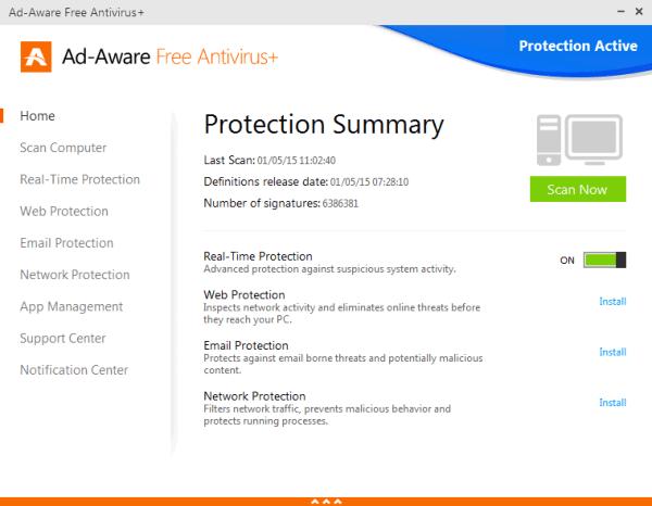 Lavasoft Ad-Aware Free Antivirus +