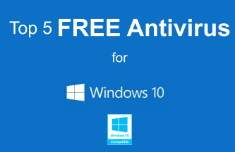 Top 6 Best Free Antivirus Software For 2018 For Windows10 Pc