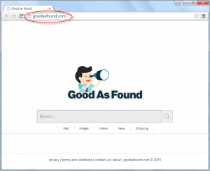 Goodasfound.com Homepage Image