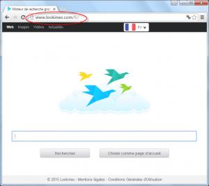 Lookineo.com Homepage Image
