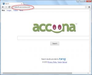 Search.Accoona.com Homepage Image