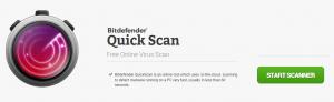 Bitdefender Quick Scan - Online Virus Scanner
