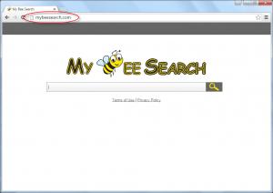 Mybeesearch.com Homepage Image