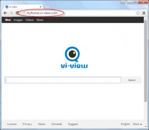 Myhome.vi-view.com Homepage Image