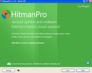 Sophos Hitman pro Anti-Malware Scanner