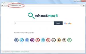 WhaatNext.com Homepage Image