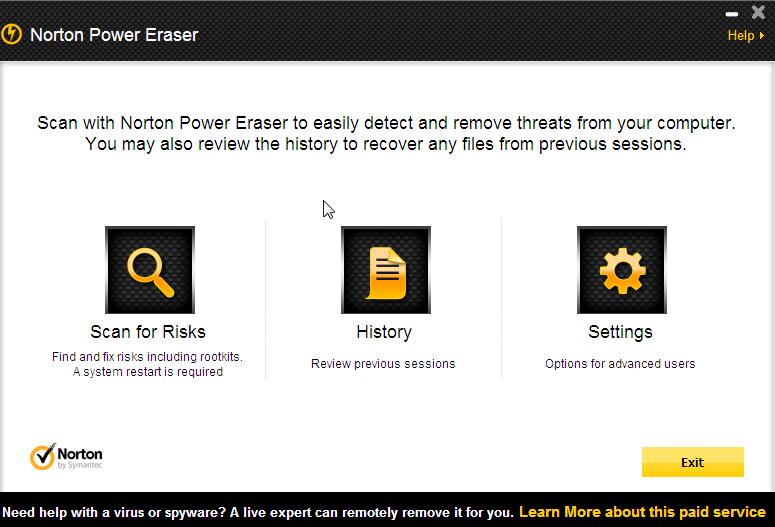 Norton Power Eraser by Symantec