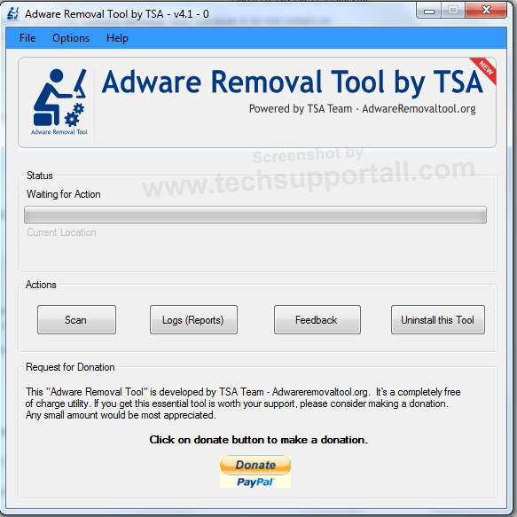 adware removal tool by tsa free download
