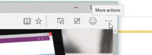 Edge Web Browser Turn Pop-ups on off