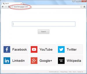 Searchengage.com Homepage Image