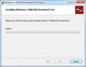 Windows USB / DVD Download Tool Installation