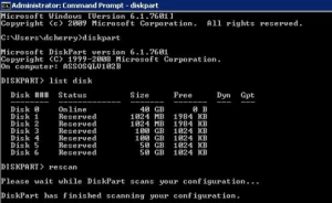 Create bootable disk using command promptt with diskpart