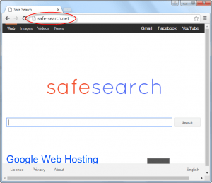 Safe-search.net Homepage Image