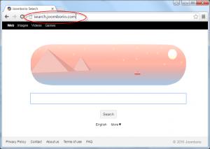 Search.Joomborio.com Homepage Image
