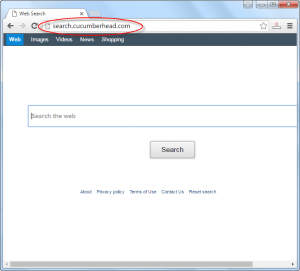 Search.cucumberhead.com Homepage Image