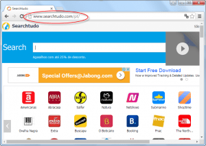 Searchtudo.com Homepage Image