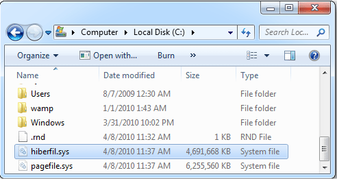 What is hiberfil sys file? How to delete it in Windows 10