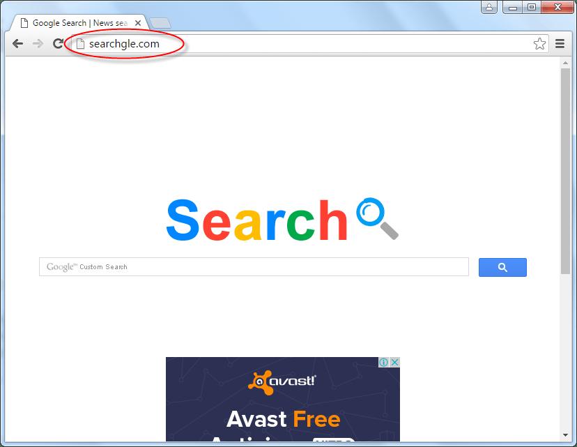 Searchgle.com Homepage image