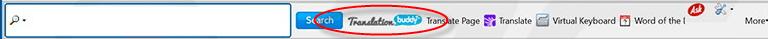 TranslationBuddy Toolbar Image
