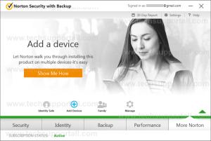 Norton Security Device management