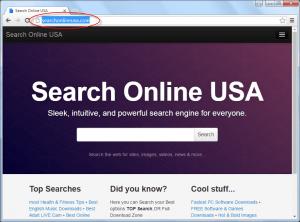 Searchonlineusa.com Homepage Image