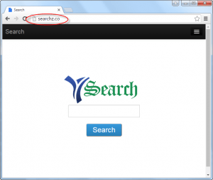 Searchz.co Homepage Image