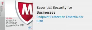 McAfee Endpoint Protection SMB