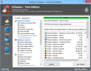CCleaner Tech Edition