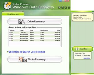 Steller Phonenix Windows Data Recovery