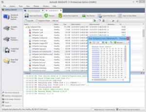 Active undelete data recovery toolkit
